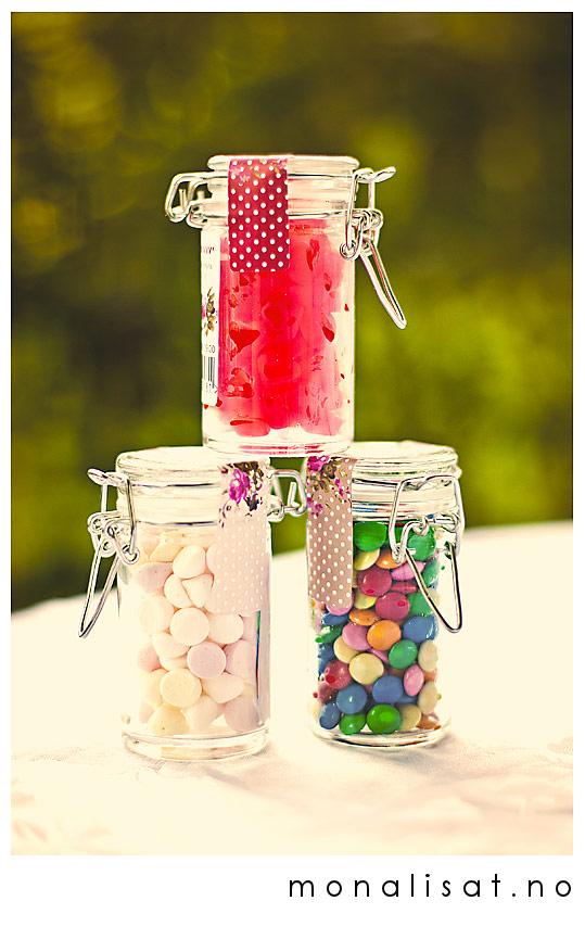 Krukker med godterier