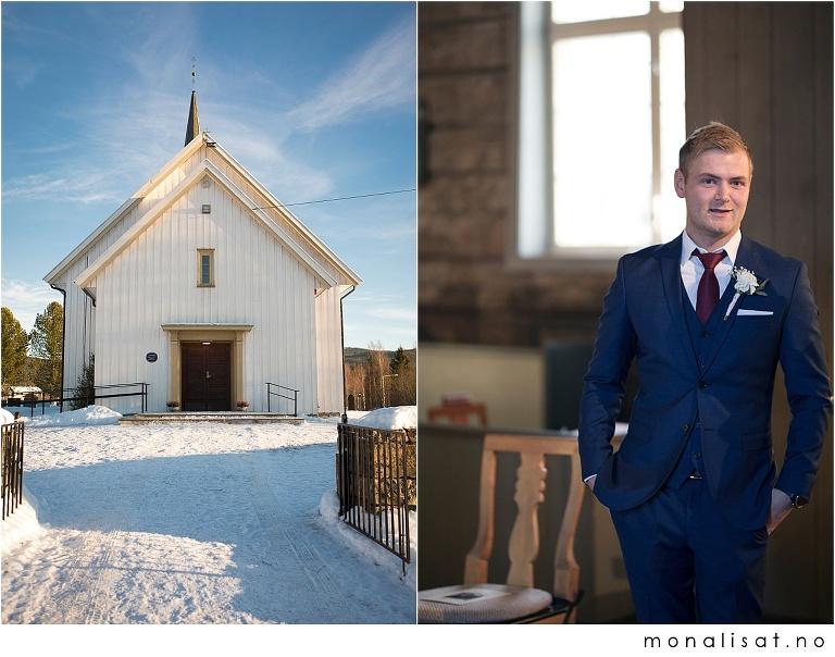 Bryllup i Hurdal kirke