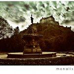 Bilder fra Edinburgh slott