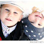 Barnefotografering i høstlys