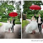 Bryllupsfotografering: Camilla & Bjørn