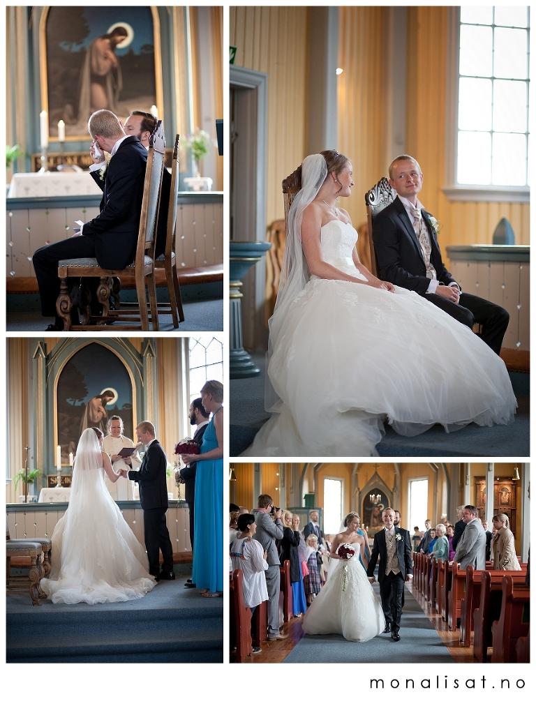 Bryllupsfotografering, Nittedal kirke