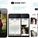 Få gjestenes mobilbilder fra bryllupet med iPhone app!