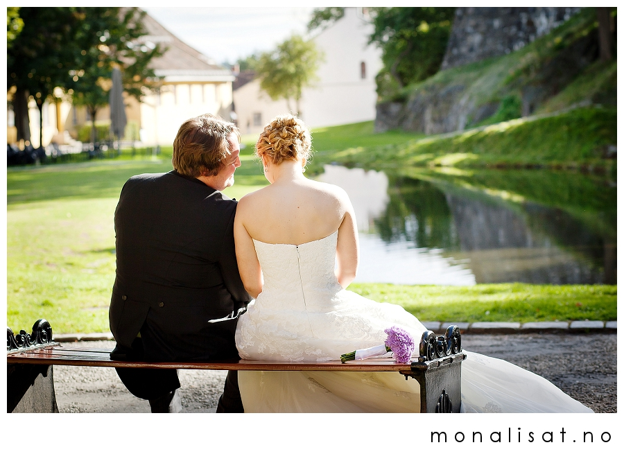 bryllupsfotografering Oslo, Akershus festning