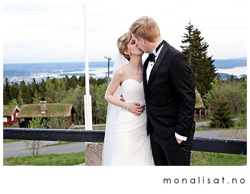 Bryllupsfotograf Mona-Lisa T. Bryllupsfotografering på Frognerseteren