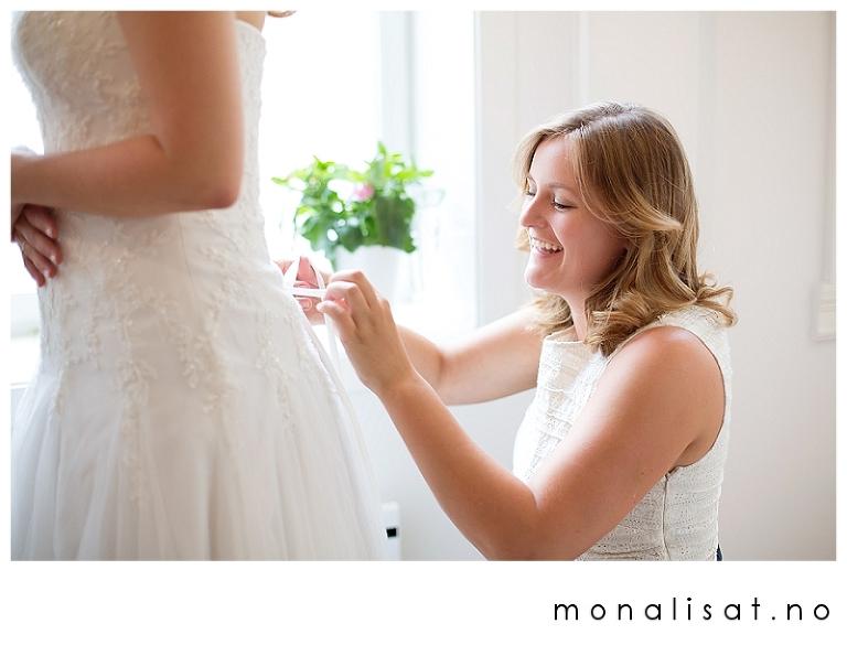 Bryllupsfotografering Disen Gård, hagebryllup