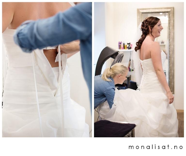 Bryllupsfotograf Mona-Lisa T. bryllupsfotografering Sandefjord