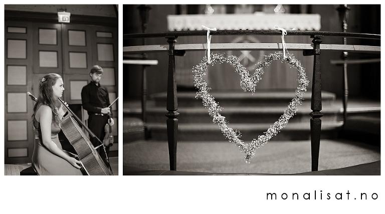 Bryllupsfotograf Mona-Lisa T. Bryllupsfotografering Strømmen kirke