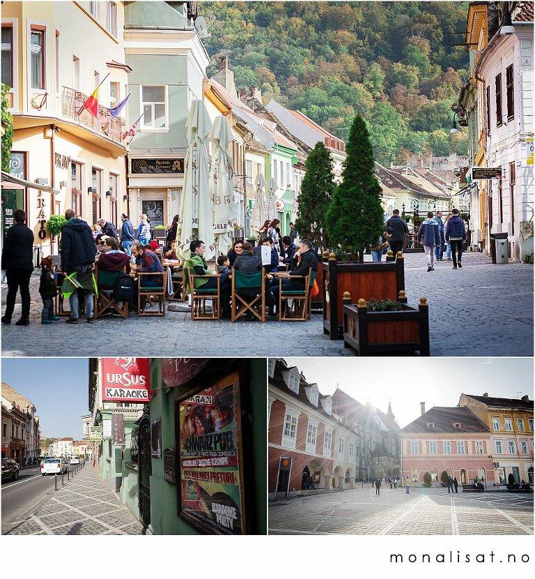 Old town Brasov, Romania