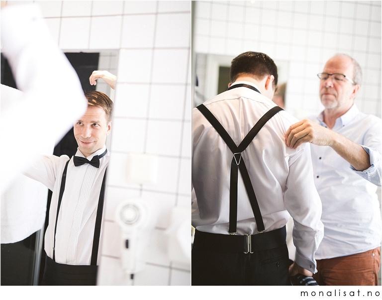 Bryllupsforberedelser på Hotel Savoy, Oslo