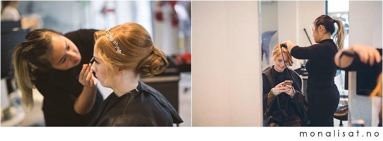 Brudepynting på Studio S Style Lillestrøm