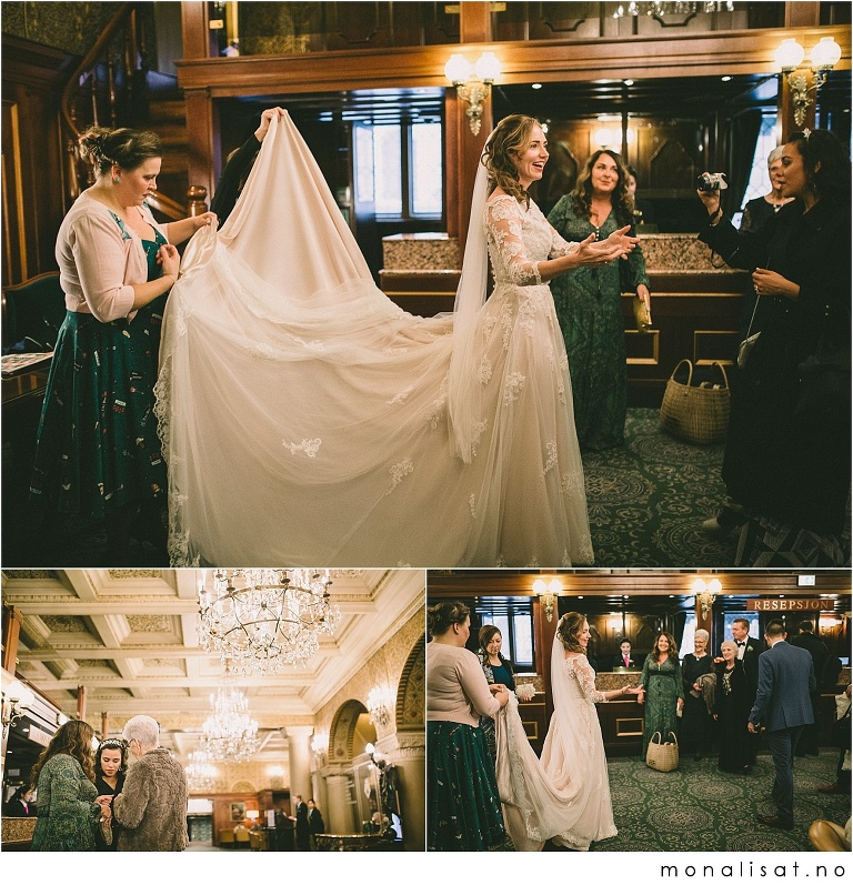 Bryllup Bristol hotell i Oslo