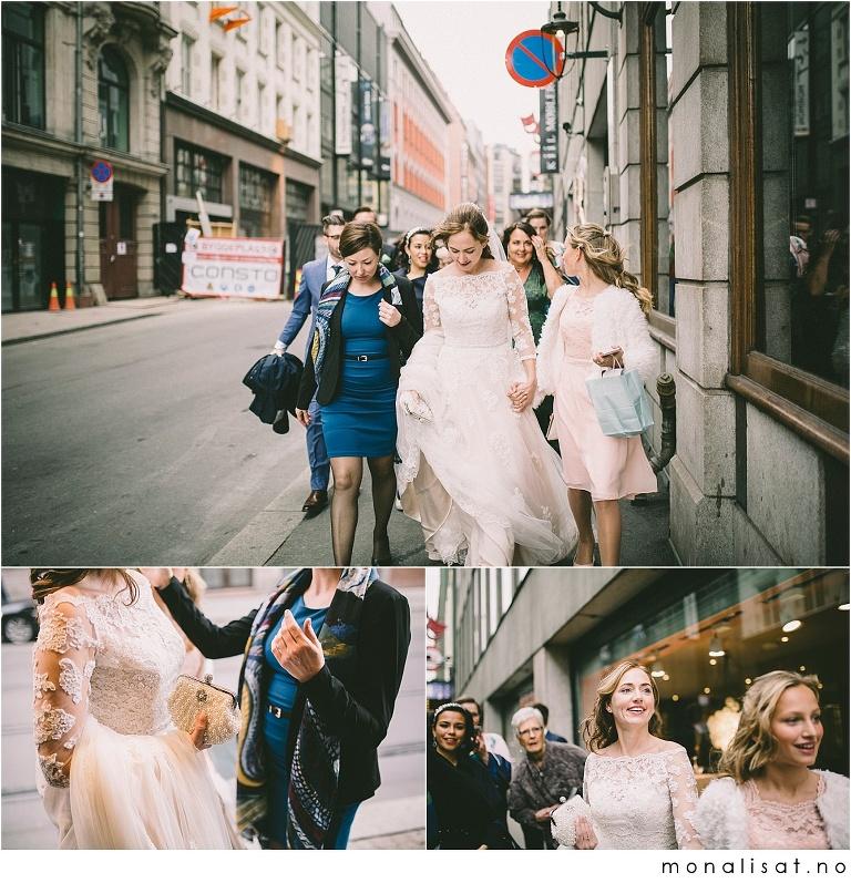 Bryllup Oslo rådhus og Bristol hotell